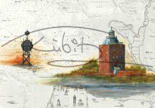 Leuchtturm Neuwerk mit Ostbake