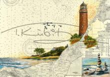 Leuchtturm Darßer Ort und Strand bei Ahrenshoop