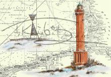Leuchtturm Norderney mit Peilbake