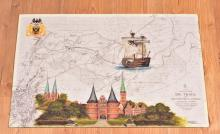 Holstentor & Kraweel Lisa von Lübeck