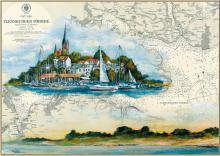Flensburger Hafen im herbstlichen Licht