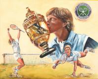 Boris Becker Sieg in Wimbledon 1985