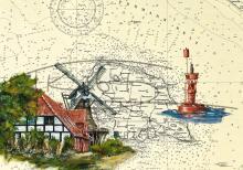 Segelmühle Jachen Flünk in Lemkenhafen auf Fehmarn